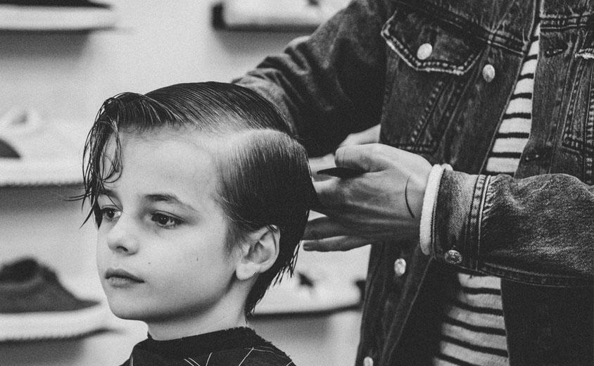 corte de pelo infantil
